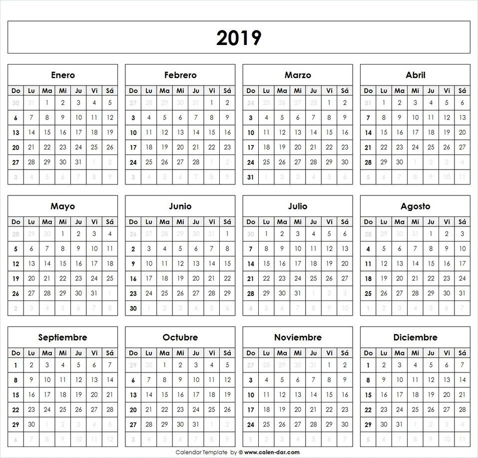 Imprimir Calendario 2020 Por Meses.Top 10 Punto Medio Noticias Calendario 2019 Chile Con Feriados