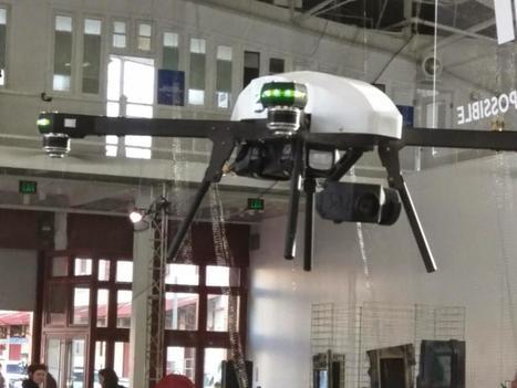 Sneak Peek: The 3DR Spektre Industrial Inspection Drone | Robohub | Scoop.it
