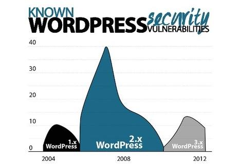 Infografica sicurezza di Wordpress | INFOGRAPHICS | Scoop.it