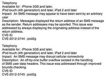 iOS 6 : Apple corrige la faille des SMS sur iPhone | Geek or not ? | Scoop.it
