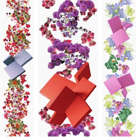 papier peint original\' in Tissu d\'ameublement, art textile et papier ...