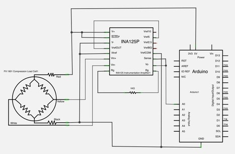 Arduino How To Wire Up A Wire Load Cellstr - 3 wire load cell wiring diagram