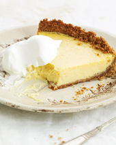 Lemon Ice Box Pie Recipe | À Catanada na Cozinha Magazine | Scoop.it