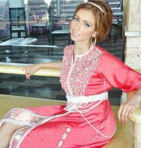 Robes 2015 - 2014 Caftan Marocain Haute Couture.