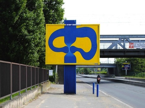 Urban Hack. Très cool manière de détourner l'espace publicitaire Parisien | Street Arts | Scoop.it
