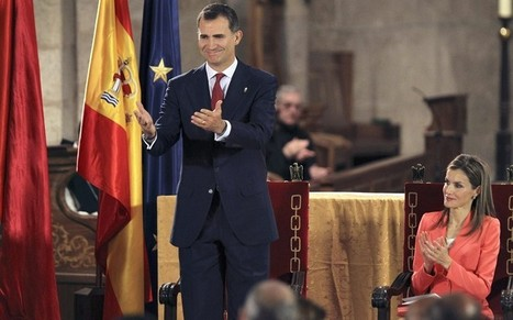 Prince Felipe promises to serve Spain 'with all my strength' - Telegraph | News round the Globe especially unacceptable behaviour | Scoop.it