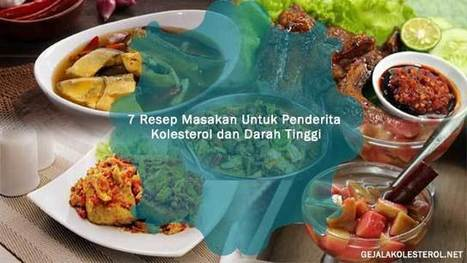7 Resep Masakan Untuk Penderita Kolesterol Dan