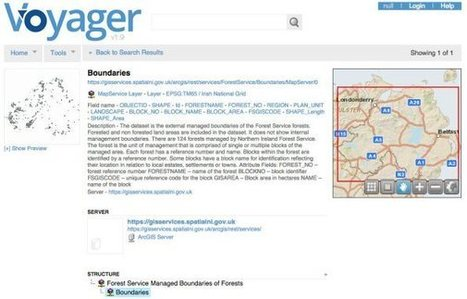 Voyager: A New Approach to Locating Data -  Spatial Reserves | cartography | Scoop.it