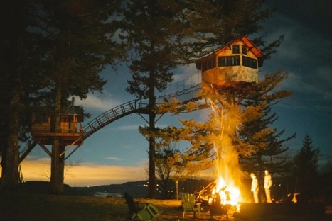 Never Grow Up: Man Quits Job, Builds Dream Treehouse Dwelling | new society | Scoop.it