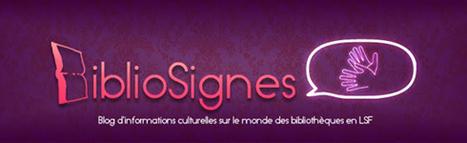 BiblioSignes: L'actualité et la diffusion des programmes accessibles au public sourd dans les bibliothèques   CaféAnimé   Scoop.it