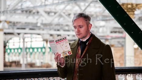 'Sir Walter Scott' at Waverley Station | Edinburgh Stories | Scoop.it