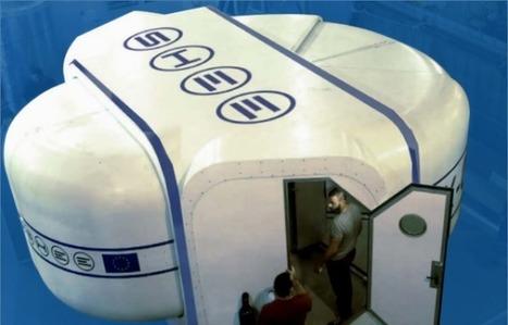 Mars: Une maison spatiale préfabriquée présentée à Strasbourg   Space matters   Scoop.it