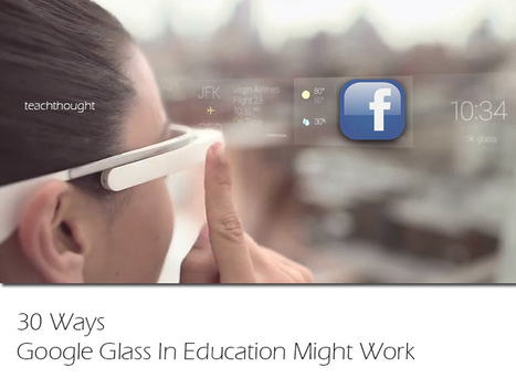 30 Ways Google Glass In Education Might Work | Meet Them Where They Are: Using The Student's Technology To Teach | Scoop.it
