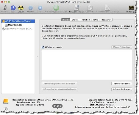 Partitionner un disque dur sous MAC. | Au fil du Web | Scoop.it