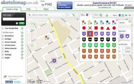 Sketchmap, para crear mapas de Google de forma rápida y sencilla | Notícias TICXEDU | Scoop.it
