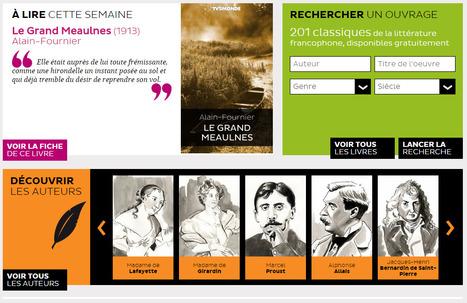 Littérature française en accès libre | histoire des arts et professeur documentaliste | Scoop.it