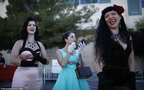 Viva Las Vegas! Thousands flock to Sin City  for Rockabilly festival | Celebrating Fabulosity: Pinup to Burlesque! | Scoop.it