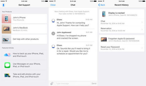 Apple Support gets its own standalone iOS app   Mac Tech Support   Scoop.it