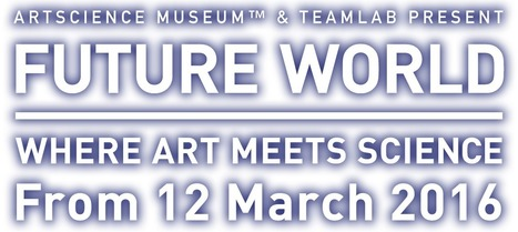 Art Science Museum & teamLab Present | FUTURE WORLD WHERE ART MEETS SCIENCE | From March 12, 2016 | Connecting Cities | Scoop.it
