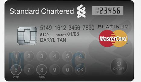 Mastercard lance sa carte bancaire avec écran LCD et clavier tactile   Toutes les cartes   Scoop.it