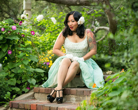 Rockabilly Model Linh England on Her New Pinup Charity | Celebrating Fabulosity: Pinup to Burlesque! | Scoop.it