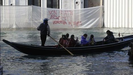 Venice #Venexodus protesters oppose tourist numbers - BBC News | Sustainable Tourism | Scoop.it