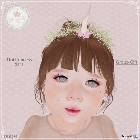 Uni Princess Tiara Group Gift by Tiny Trinkets | Teleport Hub - Second Life Freebies | Second Life Freebies | Scoop.it