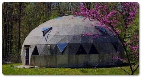 Wind-Powered Aquaponic Dome Greenhouse | efficient gardening | Scoop.it