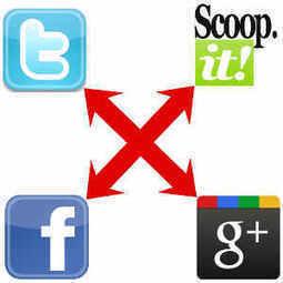 Social Media Cross Promotion At Its Best | Social Media Superstar | Scoop.it