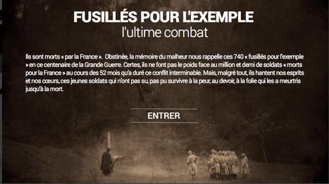 Fusillés pour l'exemple,l'ultime combat :  webdocumentaire de RFI | La Grande Guerre | Scoop.it