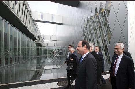 Hollande a inauguré le nouveau site des Archives nationales  - france - Directmatin.fr | Rhit Genealogie | Scoop.it
