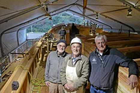 Tall Ship 'Matthew Turner' readying for April launch | Coastal Restoration | Scoop.it