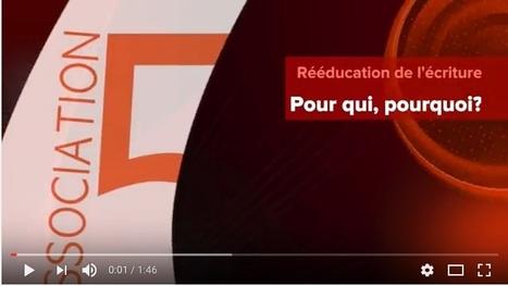 Vidéo : Rééducation de l'écriture, association 5E | Les troubles de l'écriture | Scoop.it