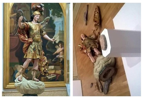 Tourist Destroys 18th Century Statue While Taking A Selfie | 16s3d: Bestioles, opinions & pétitions | Scoop.it