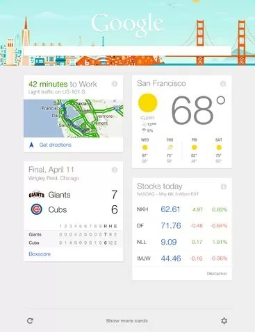 Google Now Finally Comes to Google Search on iPad and iPhone | PadGadget | SearchTools | Scoop.it