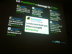 Twitterwalls: the writing's on the wall - Cat's Pyjamas | Twitter for You | Scoop.it