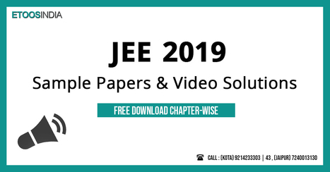 Jee Mains Sample Paper Pdf