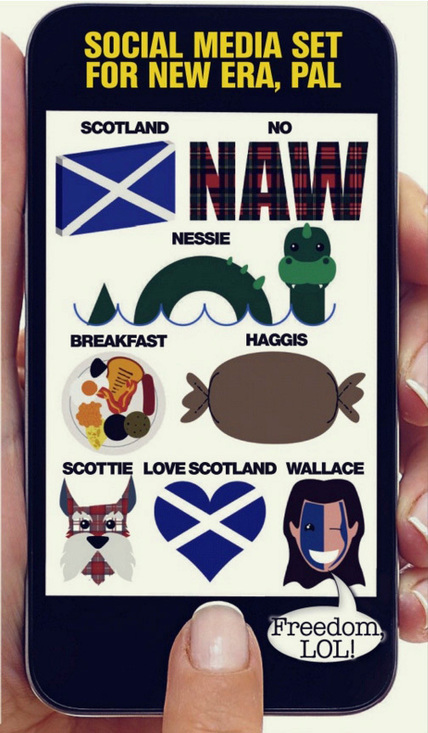 Scots overcome with emoj-ion...phones to get our flag | My Scotland | Scoop.it