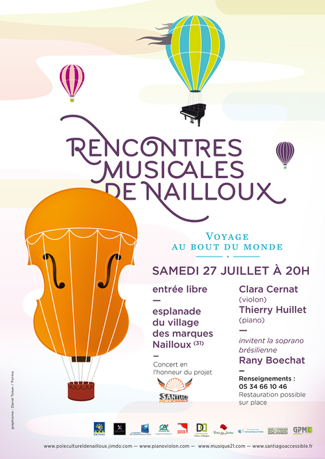 RENCONTRES MUSICALES DE NAILLOUX | cotentin webradio Buzz,peoples,news ! | Scoop.it