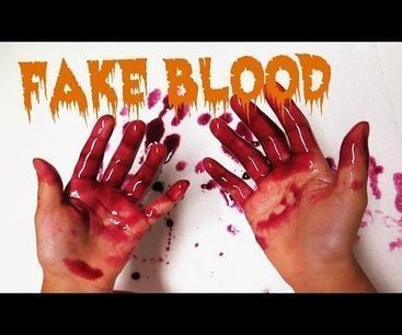 How to make Fake Blood for Halloween | Tools You Can Use | Scoop.it