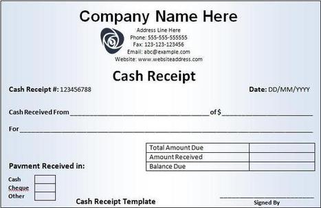 Doc674618 Sample of Receipt Form format of receipt 85 More – Format Receipt