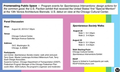 Promenading Public Space » SOA Culture | Shimer College alumni | Scoop.it