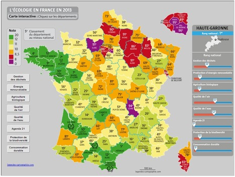 Le 31 N°1 du Palmarès 2013 de l'écologie en France | Toulouse La Ville Rose | Scoop.it