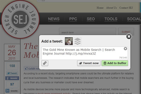 How To Tweet More Content From Anywhere On The Web   Search Engine Journal   SEO Tips, Advice, Help   Scoop.it