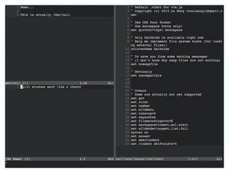 Vim.js | Javascript | Scoop.it