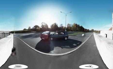 Voici la première vidéo d'un crash test filmée à 360° | 694028 | Scoop.it