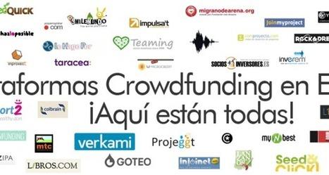 Guía completa de plataformas Crowdfunding en España | Emplé@te 2.0 | Scoop.it