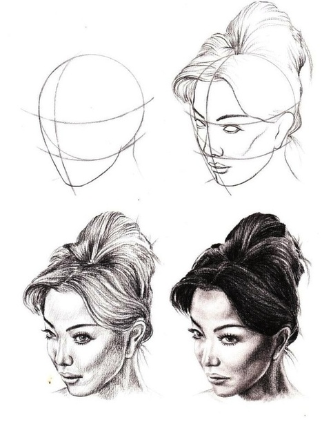 face drawing reference guide nong pim scoo