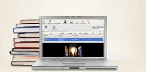calibre - E-book management | WEBOLUTION! | Scoop.it