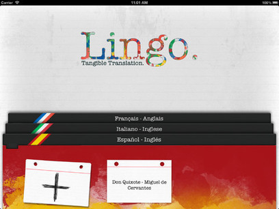 Interview with the Creator of Lingo – a New Language Learning App for iPad | TradOfficina | Scoop.it